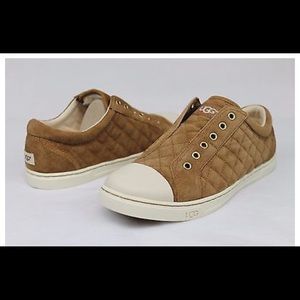 Ugg  sz 6 jemma quilted tennis shoe